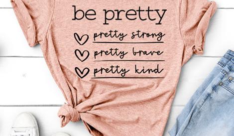 be pretty...