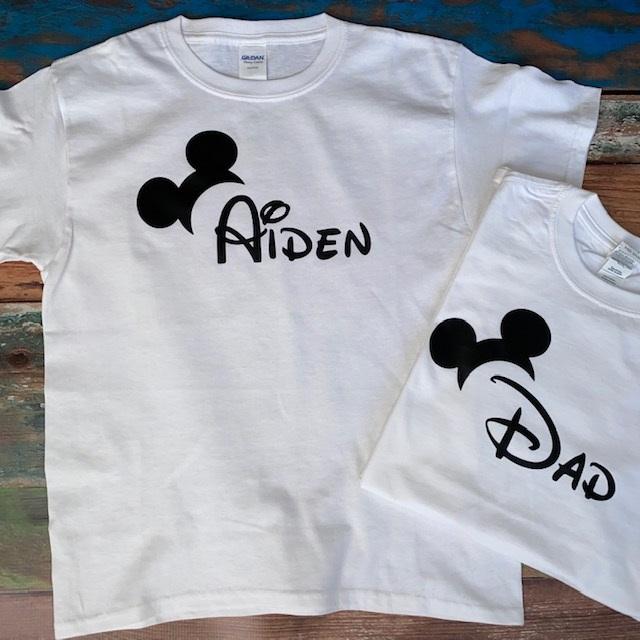 Mickey-Side Ears