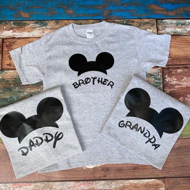 Mickey-Family Half Head