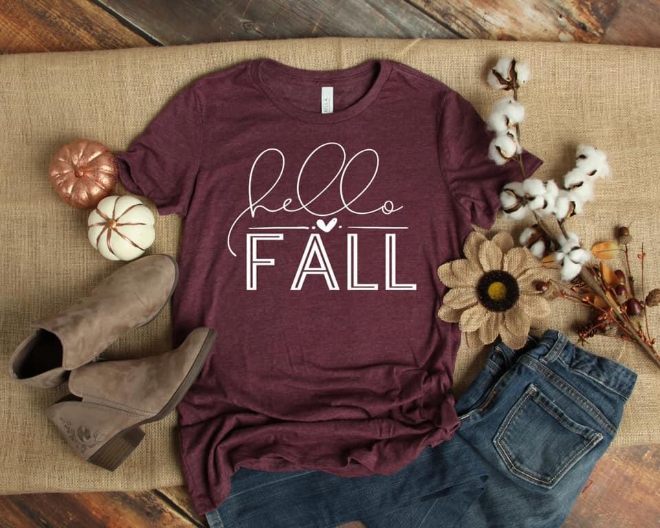 Hello Fall-White