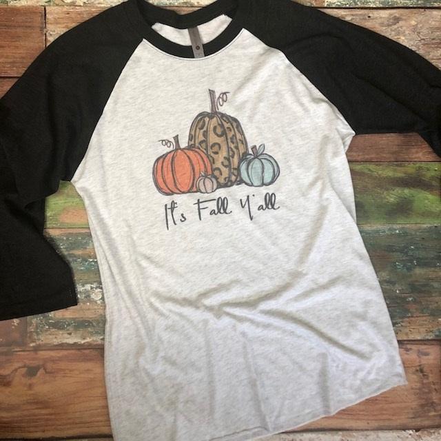 It's Fall Y'all Pumpkins