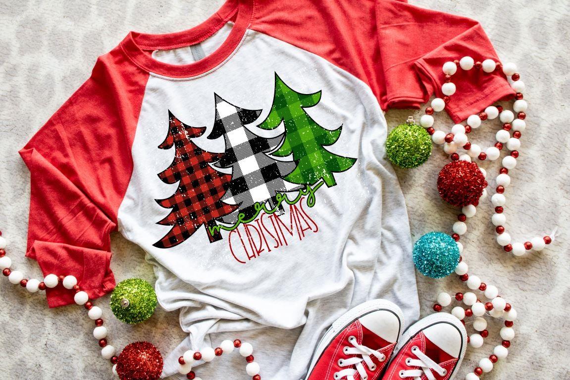 Merry Christmas 3 Trees