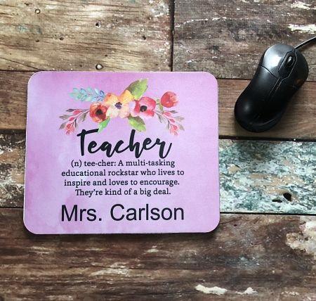 Teacher Mouse Pad