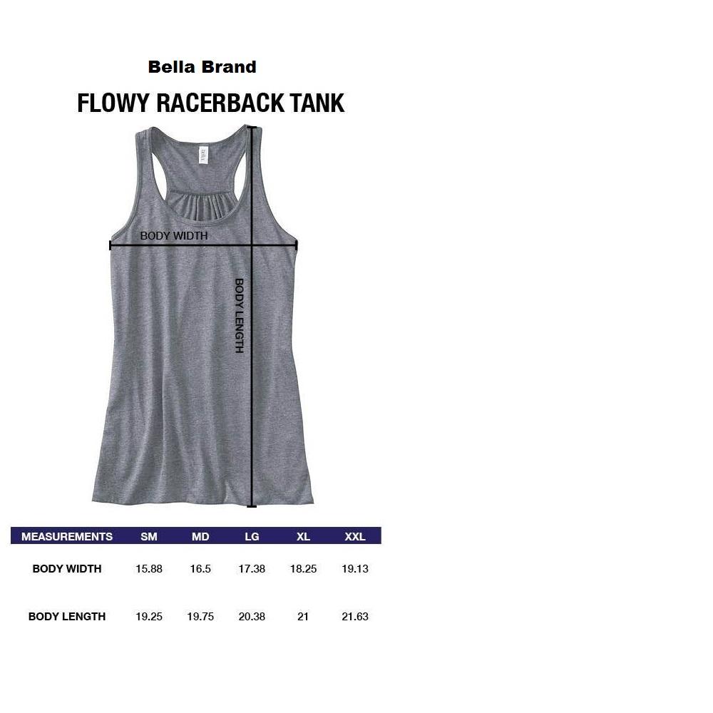 FLOWY RacerBack Tank-Bella Brand