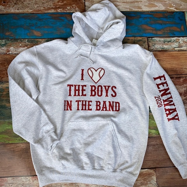 BOYS IN THE BAND Baseball Hoodie