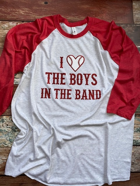 BOYS IN THE BAND baseball raglan