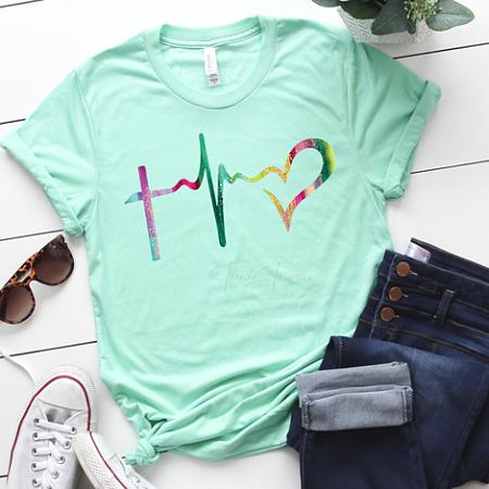 Heartbeat Cross