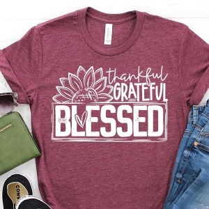 Thankful Grateful BLessed-sunflower
